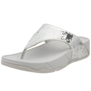 fitflop electra pewter toning sandals