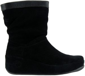 fitflop crush boots black suede